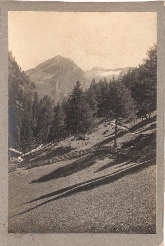 Veduta montana dell'Alto Adige.