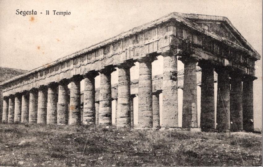 Segesta - Il Tempio.