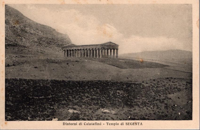 Dintorni di Calatafimi - Tempio di Segesta.