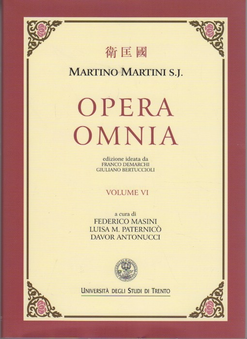 Opera Omnia: VI.