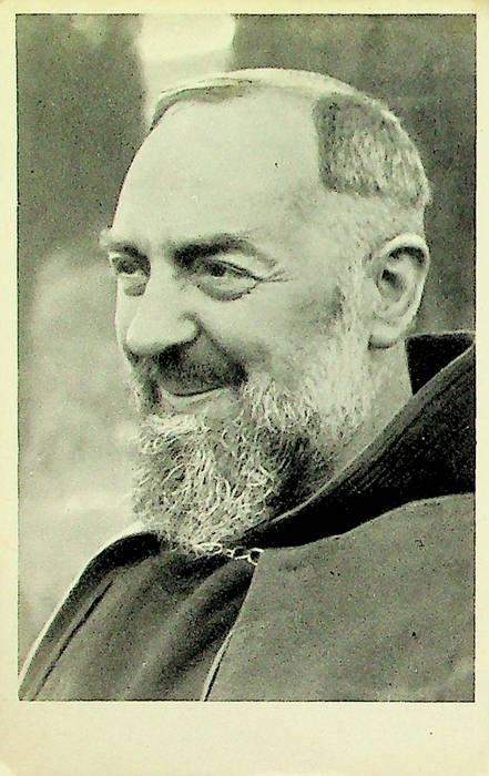 Padre Pio da Pietrelcina.