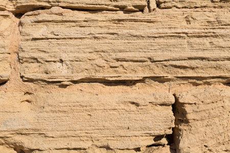 Strati tipici delle pietre arenarie
