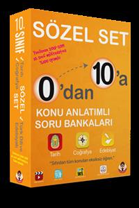 0'dan 10'a Konu Anlatımlı Soru Bankası Sözel Set