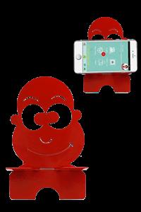 Tonguç Telefon Tutucu - KIRMIZI