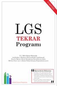 LGS Tekrar Programı