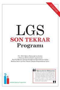 LGS Son Tekrar Programı