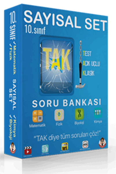 10. Sınıf TAK Soru Bankası Sayısal Set