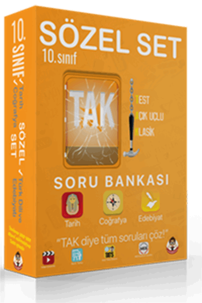 10. Sınıf TAK Soru Bankası Sözel Set