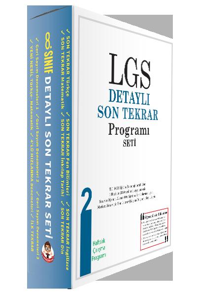 LGS Detaylı Son Tekrar Programı Seti