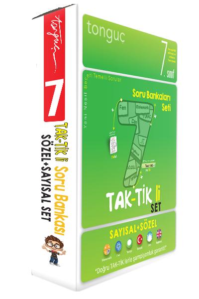 7. Sınıf Taktikli Tüm Dersler Soru Bankası Seti Tonguç Akademi