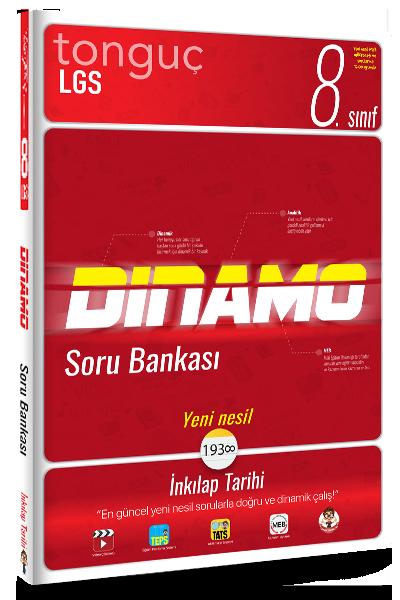 8. Sınıf İnkılap Tarihi Dinamo Soru Bankası Tonguç Akademi