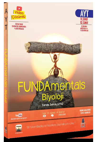 FUNDAmentals Biyoloji AYT Konu Anlatımlı Soru Bankası Tonguç Akademi