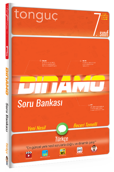 7. Sınıf Dinamo Türkçe Soru Bankası Tonguç Akademi
