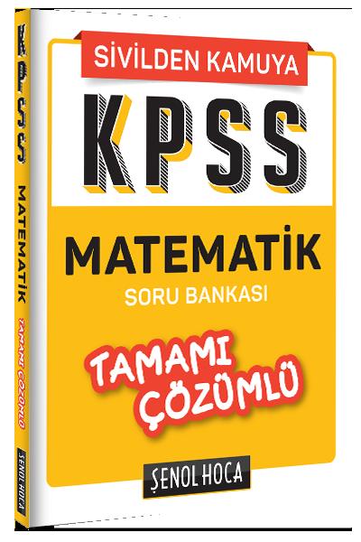 KPSS Matematik Tamamı Çözümlü Soru Bankası Tonguç Akademi