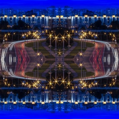 """Minsk from the project """"City Kaleidoscopes"""""""
