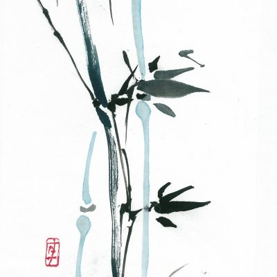 Bamboo and the wind