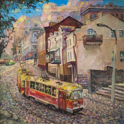 Evening Tramway