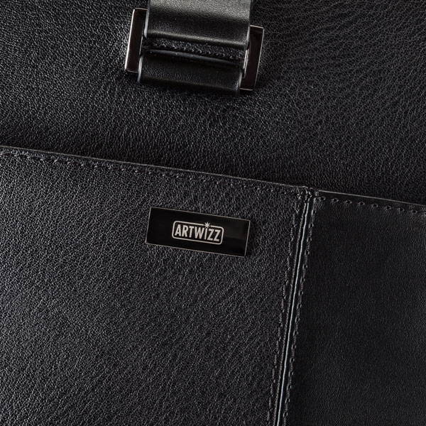 Leather Bag Detail View