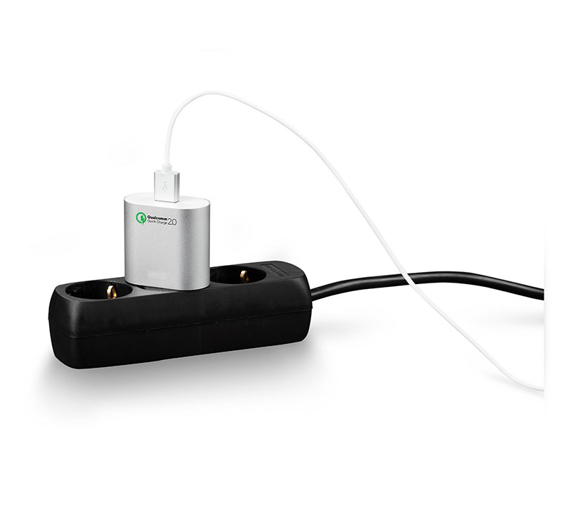 PowerPlug allows quick and safe charging
