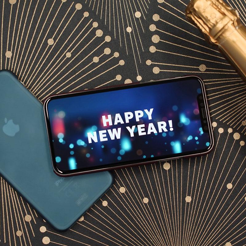 Neues Jahr, neues Glück, neues Zubehör! Erhalte 18% Rabatt auf Deinen Einkauf