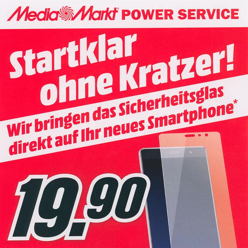 Power Service: Artwizz Sicherheitsglas gratis bei Media Markt und Saturn auftragen lassen!