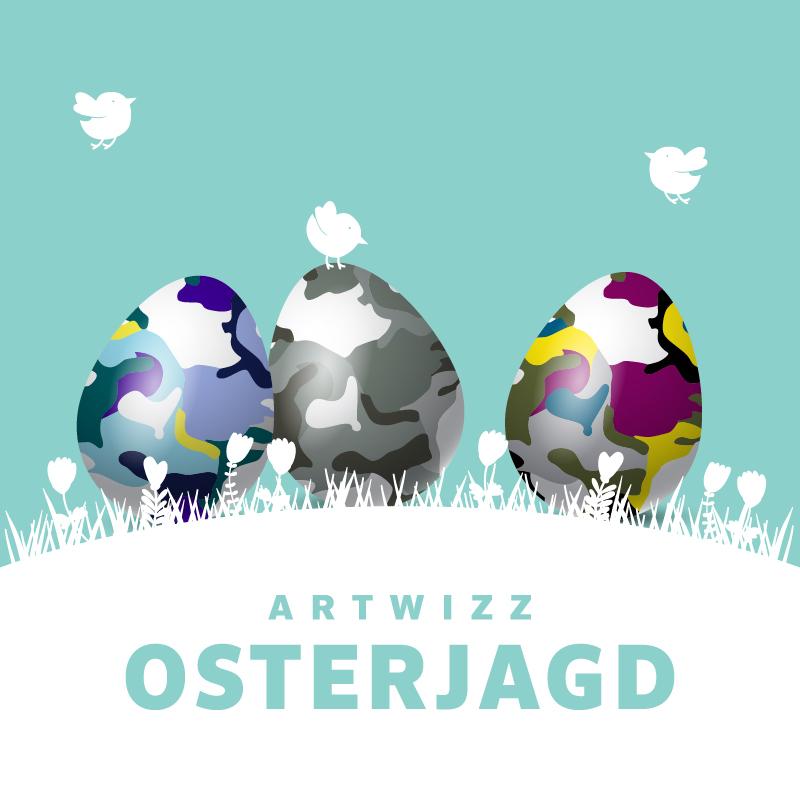 Die große Ostereiersuche bei Artwizz - Jetzt Gutscheine sichern!