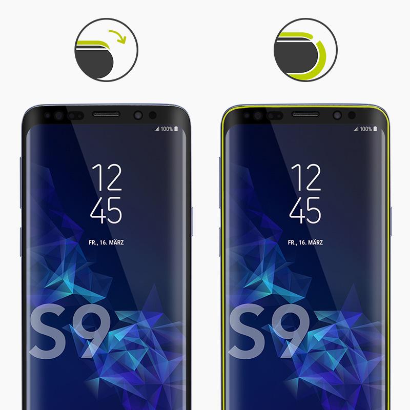 CurvedDisplay Sicherheitsglas - Jetzt in zwei Varianten für ausgewählte Galaxy Modelle