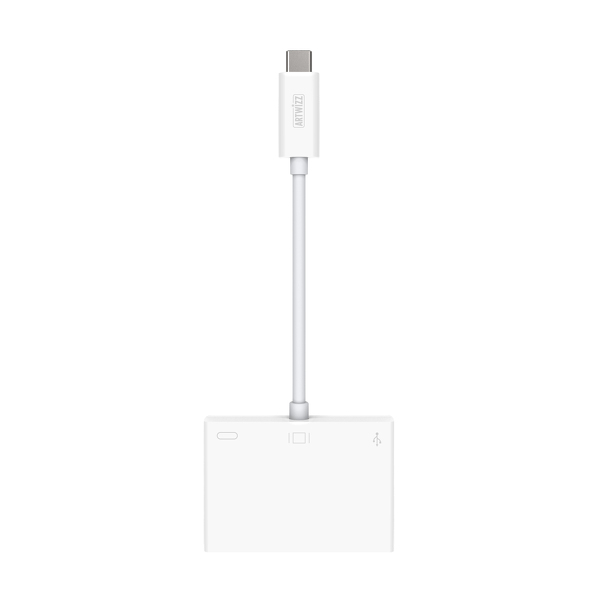 USB-C High-Speed Adapter to HDMI & USB-A