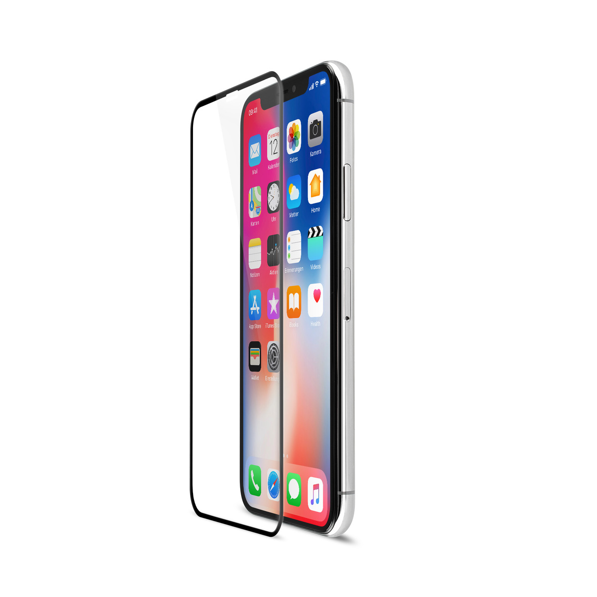 Iphone X Lcd Touchscreen Samsung S3 Mini White Original Full Coverage Safety Glass Screen Protection For Xs