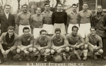 Photo de l'équipe de l'ASSE saison 1945-1946