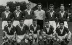 Photo de l'équipe de l'ASSE saison 1954-1955