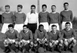 Photo de l'équipe de l'ASSE saison 1956-1957