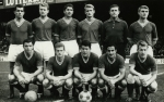 Photo de l'équipe de l'ASSE saison 1963-1964