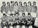 Photo de l'équipe de l'ASSE saison 1967-1968