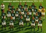 Photo de l'équipe de l'ASSE saison 1974-1975