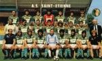 Photo de l'équipe de l'ASSE saison 1980-1981