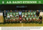 Photo de l'équipe de l'ASSE saison 1981-1982