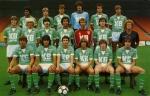 Photo de l'équipe de l'ASSE saison 1982-1983