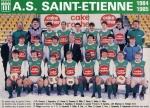 Photo de l'équipe de l'ASSE saison 1984-1985