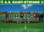 Photo de l'équipe de l'ASSE saison 1985-1986