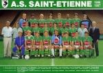 Photo de l'équipe de l'ASSE saison 1986-1987