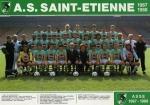 Photo de l'équipe de l'ASSE saison 1987-1988