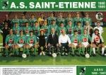 Photo de l'équipe de l'ASSE saison 1988-1989
