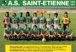Photo de l'équipe de l'ASSE saison 1990-1991