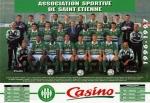 Photo de l'équipe de l'ASSE saison 1996-1997