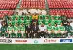 Photo de l'équipe de l'ASSE saison 1998-1999