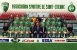 Photo de l'équipe de l'ASSE saison 1999-2000