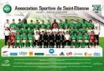 Photo de l'équipe de l'ASSE saison 2008-2009