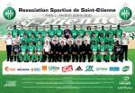 Photo de l'équipe de l'ASSE saison 2009-2010