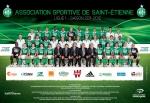 Photo de l'équipe de l'ASSE saison 2011-2012